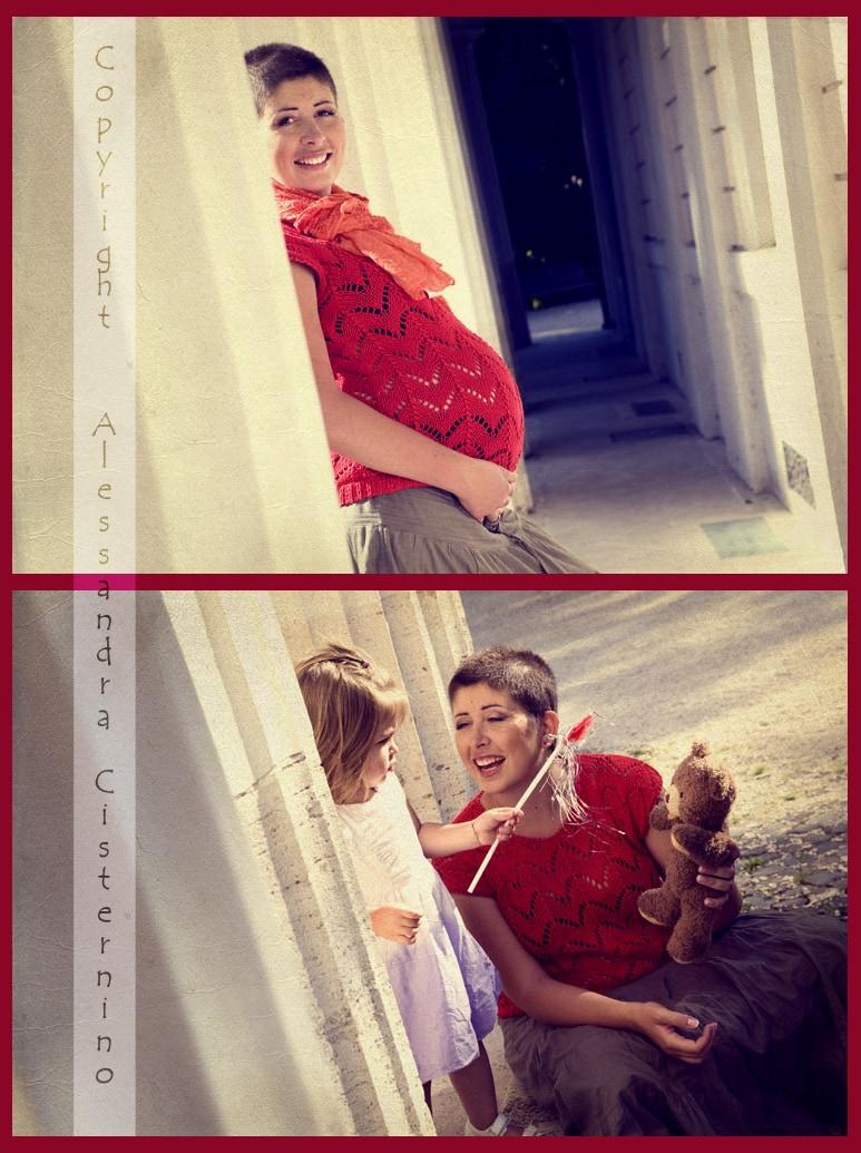 Alice, mamma, papà e…. | servizi fotografici di famiglie a roma | servizi fotografici di gravidanza a roma