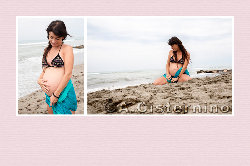 una mattina al mare | servizi fotografici per famiglie a roma | servizi fotografici di gravidanza a roma