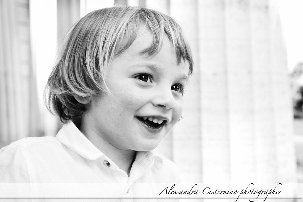 fotografo bambini roma