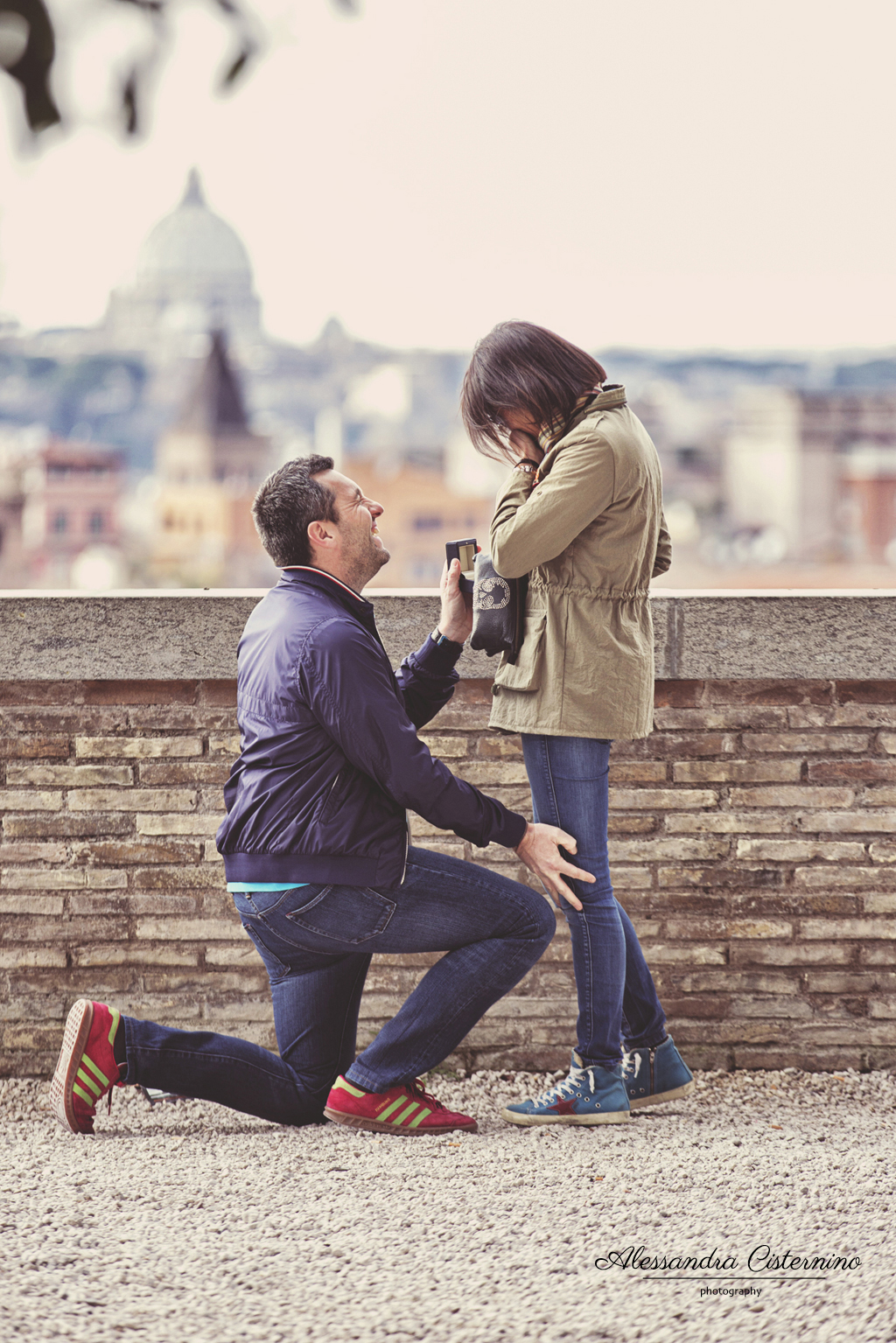 wedding proposal rome
