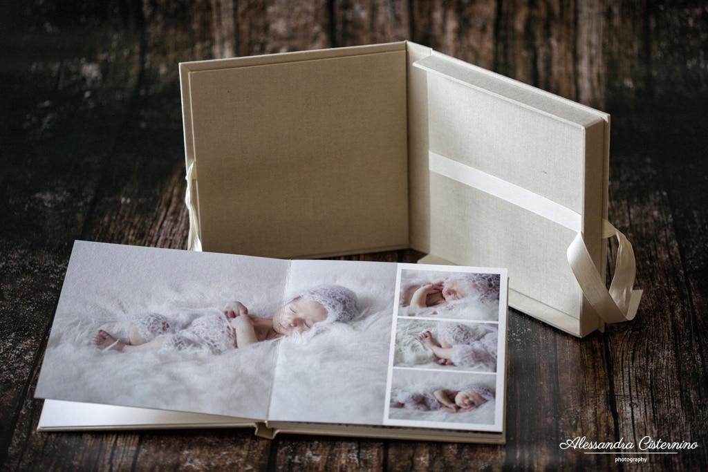 L'elegante album fotolibro su carta fotografica e fineart, con cofanetto abbinato. In tela naturale e vasta gamma di materiali a scelta
