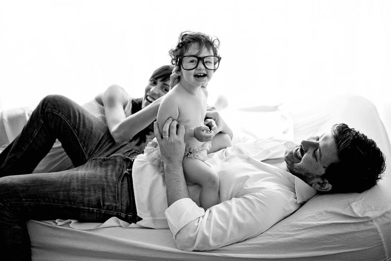 Un regalo speciale | servizi fotografici di famiglia a Roma