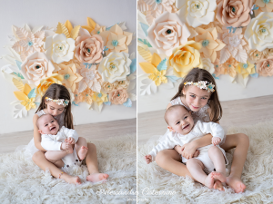 set floreale fotografie bambini