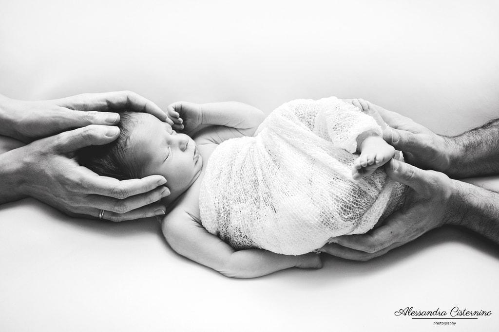 fotografie di neonati a roma