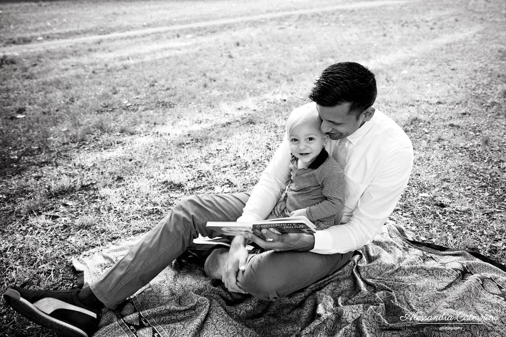 fotografia di padre e figlio