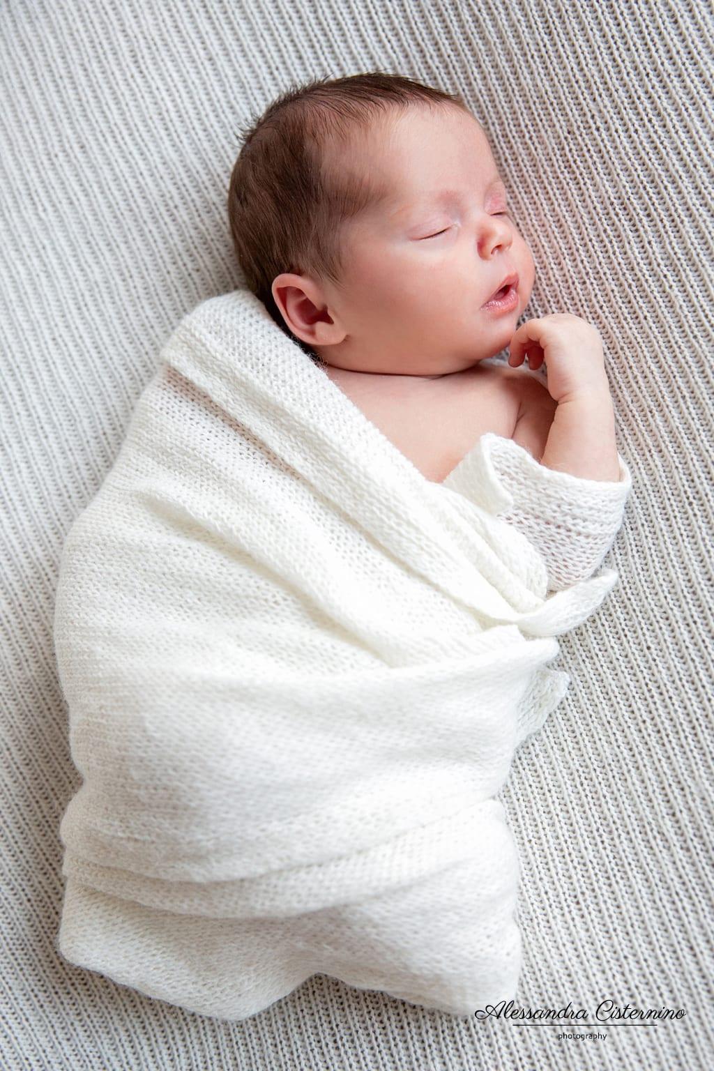 foto neonato roma